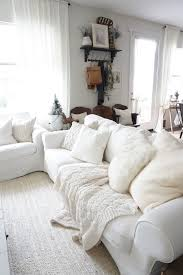 cozy cottage winter living room mrs rollman blog