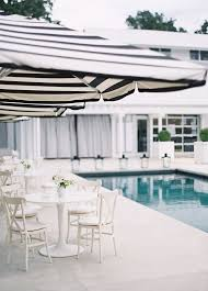 Blue And White Striped Patio Umbrella Best Outdoor Patio Umbrellas A Twist On The Expected White