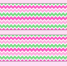 pink mint green chevron wallpaper border wall decals baby