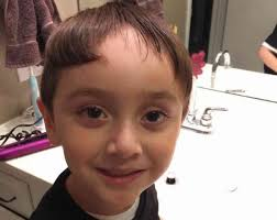 little boy hard part haircuts 16 kids who cut their own hair and it was horrible