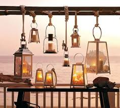 Nautical Patio Lights Love Lanterns For The Outdoors Cluster Of Lanterns Nautical