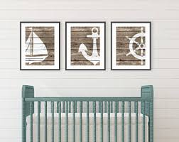Rustic Nautical Home Decor Rustic Beach Decor Etsy