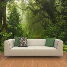 custom 3d primeval forest wall mural photo wallpaper scenery for