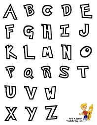 alphabet coloring page preschool alphabet coloring pages free
