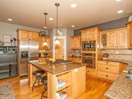 rustic kitchen with flush u0026 high ceiling in boise id zillow