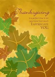 thanksgiving thank you cards make great client impression