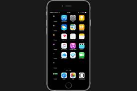ecran noir profitez d un glitch ios 10 pour offrir un fond d écran