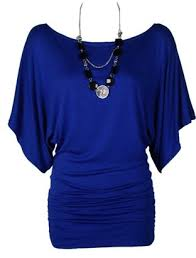 royal blue blouse top the home of fashion womens gorgeous royal blue sleeve