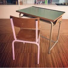 banchetto scuola banchetto scuola vintage ferro legno formica desk