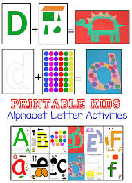 printable letter of the week crafts