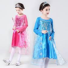 Elsa Halloween Costume Girls Popular Elsa Halloween Costume Buy Cheap Elsa Halloween Costume