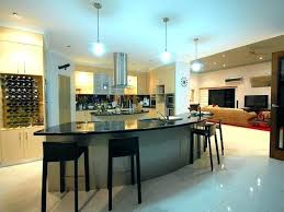 curved kitchen islands curved kitchen island modern kitchen designs with curved