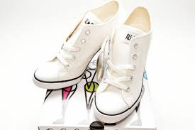 Converse High Heels Converse All Star Heel Sneakers Ox Cut White Us6 From Japan 62913