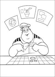 walle coloring pages captain b mccrea coloring page free printable coloring pages
