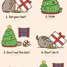 Pusheen Cat Meme - how pusheen cat plotted to capture santa failed