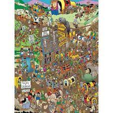 Puzzle Len Bits And Pieces Jigsaw Puzzle Wagon Len Epstein 1000