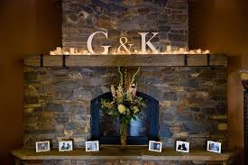 wedding backdrop initials large initials will look great on our mantle add candles and