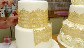 cake lace online cake decorating tutorial sugar cake lace made simple