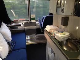 Superliner Bedroom Each Superliner Bedroom On Amtrak Trains Gets Its Own Vanity Sink
