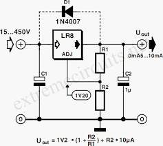high input voltage linear regulator circuit diagram