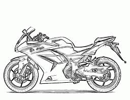 free motorcycle coloring pages suzuki motorcycle printable