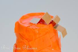 kids craft styrofoam cup pumpkin