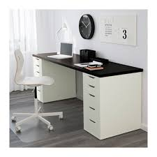 Standing Desk With Drawers by Alex Drawer Unit White Ikea