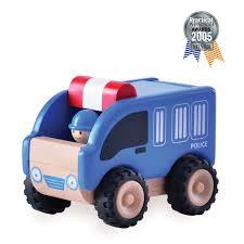 police car toy ww 4004 mini police car wonderworldtoy natural toys for smart play