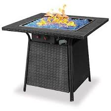 Ebay Firepit Blue Rhino Endless Summer Outdoor Patio Propane Gas Blue Glass