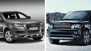 bmw x7 vs audi q7 audi q7 vs land rover range rover sport carsdirect