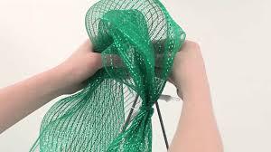how to make a deco mesh christmas tree youtube