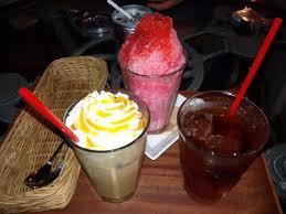 Teh Manis minuman yang kami pesan es serut coffee blend sama teh manis