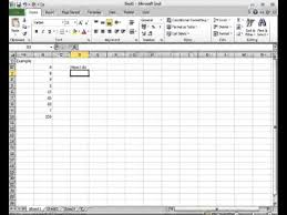 sum excel without mouse youtube