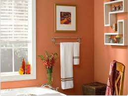 Bathroom Paint Color Ideas by 11 Best Orange Bathrooms Images On Pinterest Bathroom Ideas