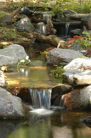 Pictures Of Backyard Waterfalls by Valleywide Ponds Bringing Nature And Tranquility To Your Backyard