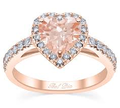 morganite engagement ring gold debebians jewelry introducing heart morganite
