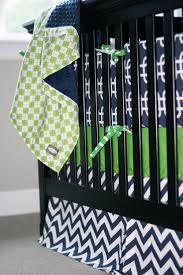 Chevron Boy Crib Bedding Bedding Boy Baby Crib Bedding Navy And Citron Zig Zag Crib