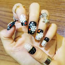 online get cheap christmas nail tips aliexpress com alibaba group