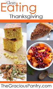 clean thanksgiving dinner recipes the gracious pantry