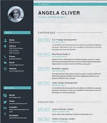 Unique Resumes Templates Unique Resume Templates Free Resume Template 10 28 Free Cv Resume