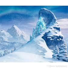 mountain backdrop 2018 frozen palace princess backdrop for photography iceberg snow