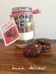 easy christmas craft 9 dotty chocolate cookie mix jar speech