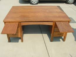 Partner Desk With Hutch Antique Partner Desk 2 Antique Partners Desk Defilenidees