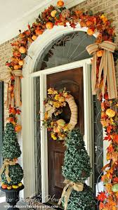 Fall Front Door Decorating peytonmeyer