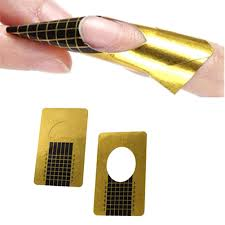 professional nail forms acrylic curve nails gel nail extension