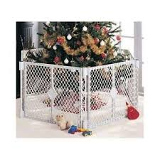 wide gate baby safety playard pet barrier portable tree