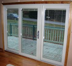 Vinyl Sliding Patio Doors With Blinds Between The Glass Window Blinds Sliding Windows With Blinds Between The Glass In