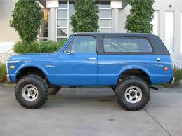 1972 chevrolet blazer for sale on classiccars com 13 available