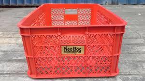 Jual Keranjang Container Plastik Bekas sell basket neobox plastic crates industry from indonesia by ud