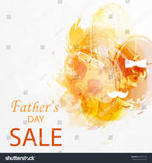 fathers day sale template flyer brochure stock vector 662284180
